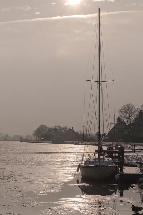 Boat In The Winter