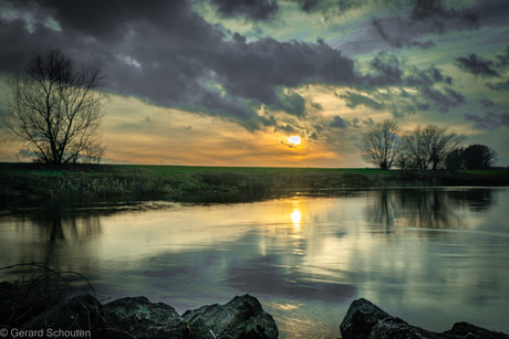Sunset river 2