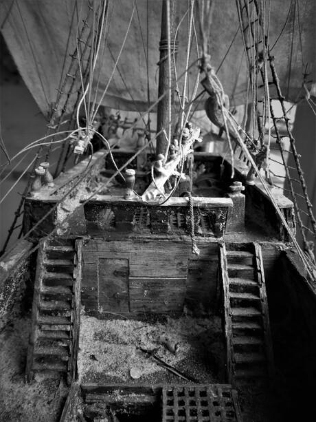 Zeilboot middeleeuwen!