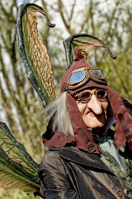 Tijdreizigers - De laatste uit de serie Fantasy Fair - foto door verschuren op 26-04-2012 - deze foto bevat: portret, verschuren, elf fantasy fair