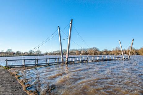 Hoog Water Meinerswijk te Arnhem