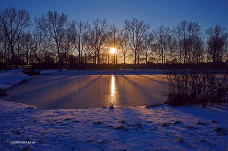 Park Hitland Sneeuw en IJs