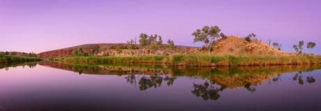 Finke River Reflectie