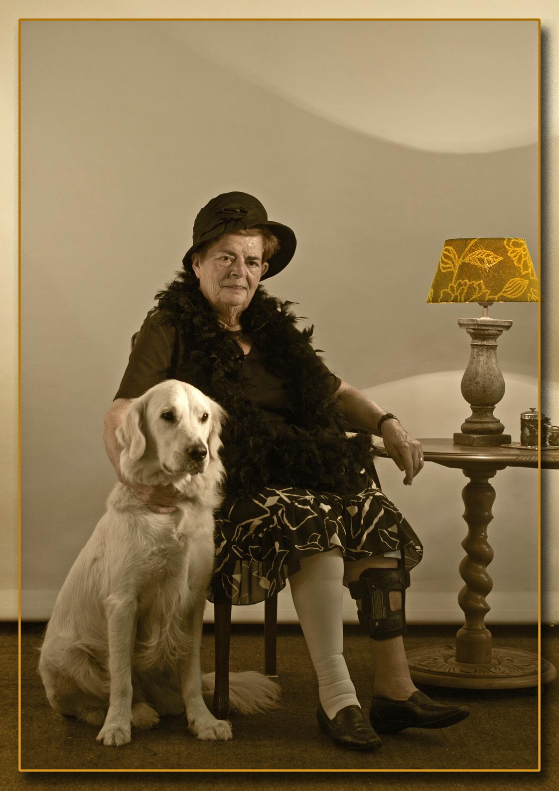 Senioren 22 - Voor de omschrijving zie Senioren 1 - foto door kosmopol op 10-01-2012 - deze foto bevat: glamour, senioren, portret; Kosmopol