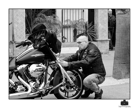 a man and his bike