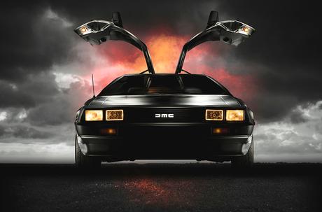 Back to the Future met de DELOREAN DMC12