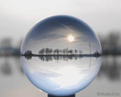 Vandaag door de kristallen bol...