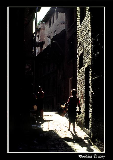 donker straatje
