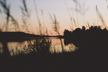 Sweet, sweet summer - @ Zweden - foto door Maan- op 15-09-2014 - deze foto bevat: water, natuur, avond, zonsondergang, spiegeling, rivier