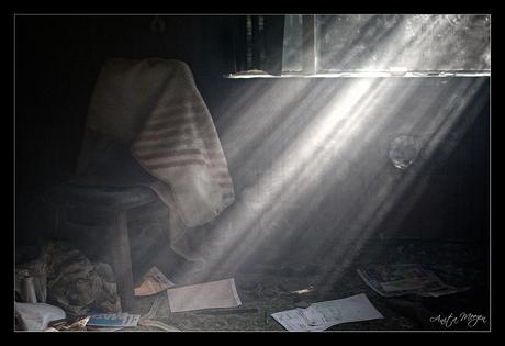 Lost in light.....