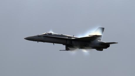 F-18C bijna supersoon
