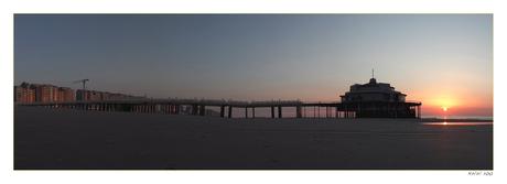 De pier in Blankenberge
