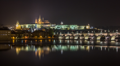 Relaxing in Prague