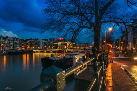De Amstel by night