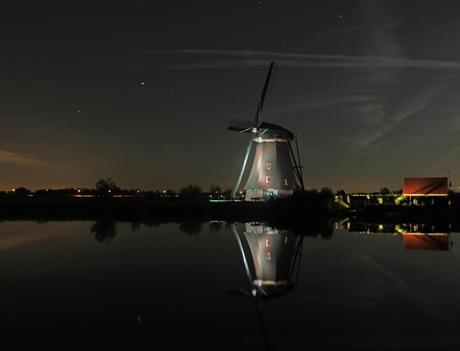 LED Verlichte molen Kinderdijk