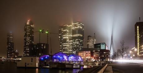 Rotterdam in de mist 2
