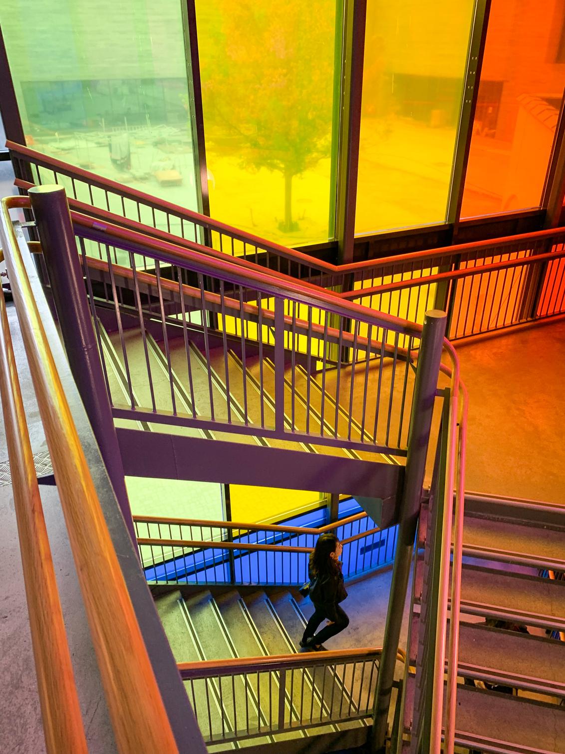 colors - Nobel centrum Oslo - foto door jwishaupt op 16-02-2020