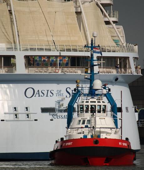 sleper met Oasis of the Seas