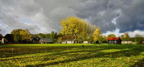 landschap van Wageningen