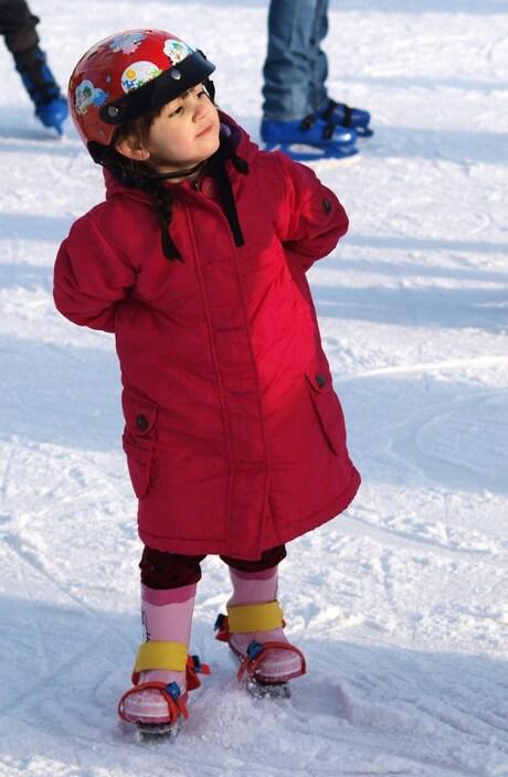 Het rode schaatsmonstertje..II