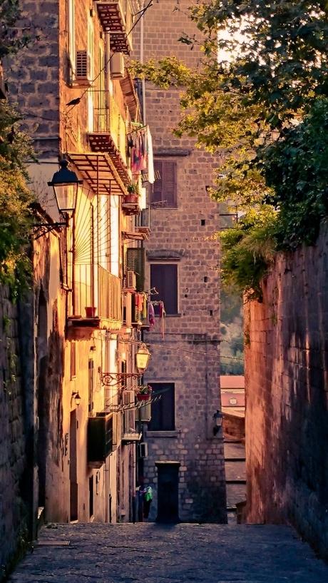 Steegje in Italie