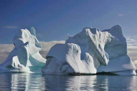 gestrande ijsbergen