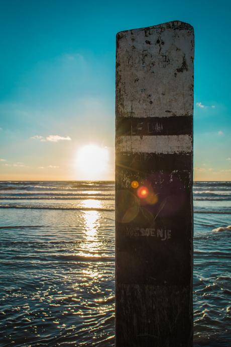 Texelse strandpaal
