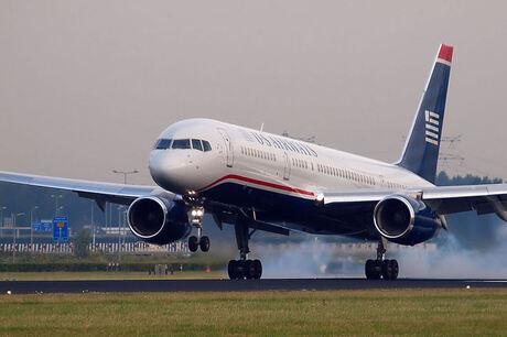 US Airways boeing 757