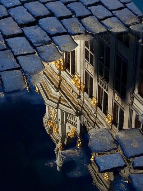 Glimmende facades Grote Markt Brussel