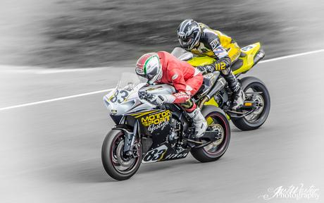 Daniel Vermaas op Gamma racing day