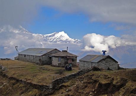 Slaapplek Nepal reis 2