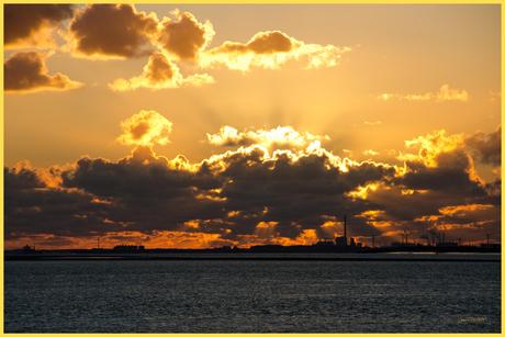 Sunset Westerschelde