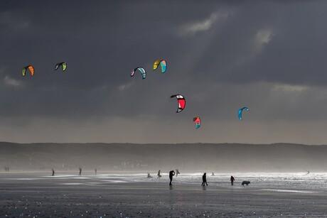 IJmuiden kite surfen (2)