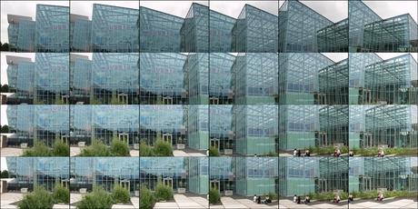 Multi Sweep Collage van de Floriade kas.