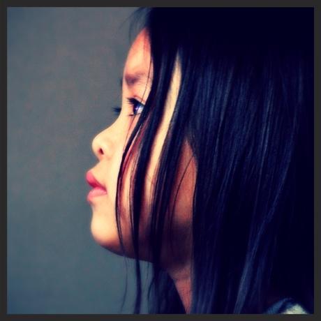 Mijn dochter.