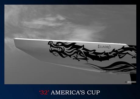 America cup zwart/wit