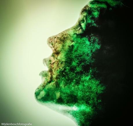 Greenie portret