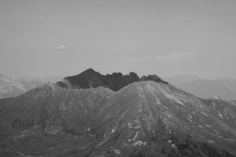 De kellerjoch en Kellerjochhut in Oostenrijk ,zillertal