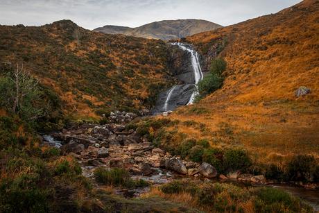 Allt Mhic Mhoirein waterfall, Isle of Skye