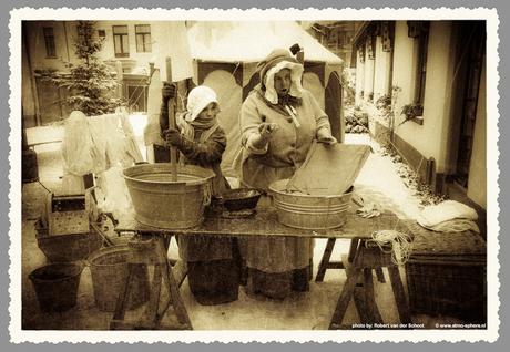 Dickensfestijn in late 1800's fotografiestijl.