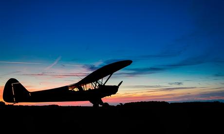 Piper Cub Sunset