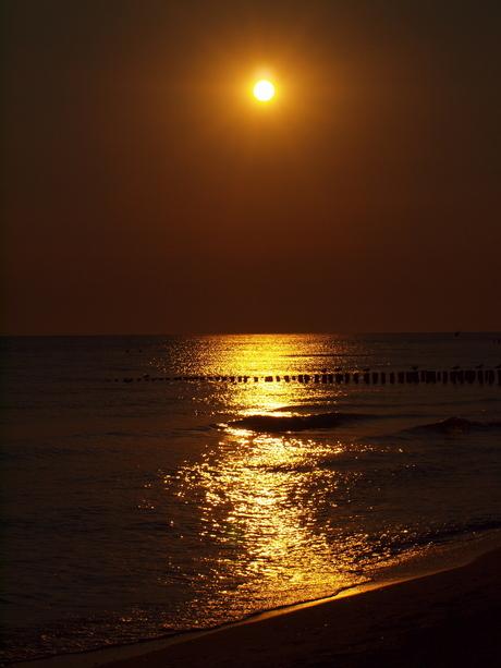 zon's ondergang zoutenlande