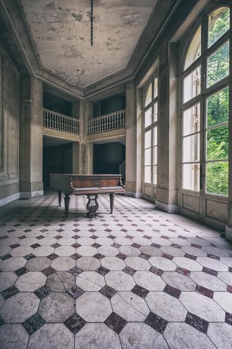 Verlaten piano