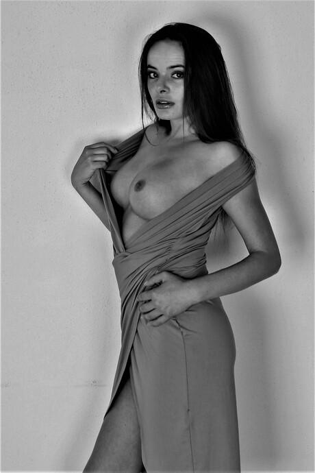 Anita (zwart/wit)