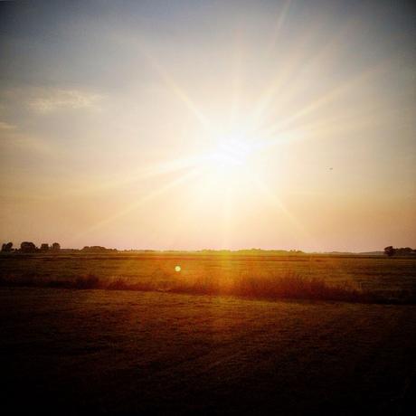 Zonsondergang Ten Boer
