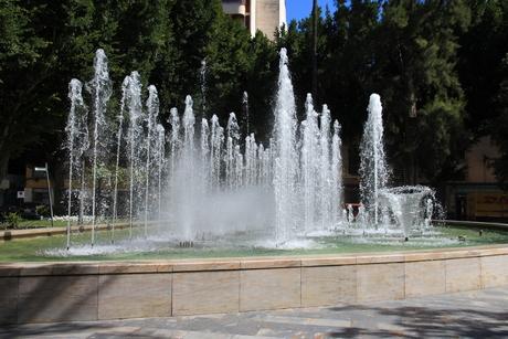 Mooie fontein Orihuela
