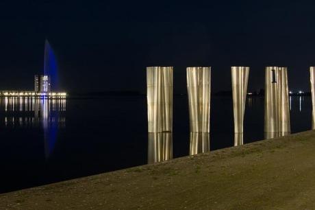 hoogste fontein van Nederland - Bergen op Zoom