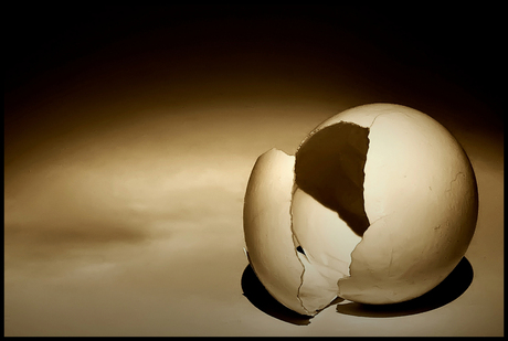 surrealistic egg