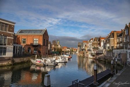 Dordrecht - - - foto door LGphotography op 11-01-2021 - deze foto bevat: lucht, water, architectuur, reizen, landschap, stad, nederland, dordrecht, reisfotografie, europa