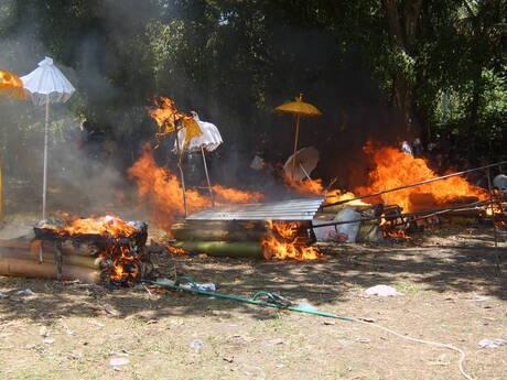 vervolg Hindoe crematie bali